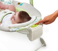 Bright Starts InGenuity SmartBounce Automatic Bouncer Art ...