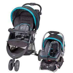 Baby Trend EZ Ride 5 Travel System, Hounds Tooth review