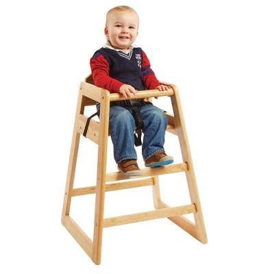 Houten kinderstoel met een zithoogte van 50 cm
