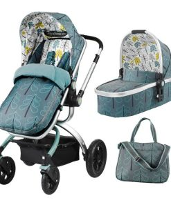 cosatto-ooba-3in1-travel-system-with-port-car-seat-fjord-new