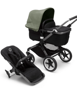 Bugaboo Fox 3 carrycot and pushchair - Forest Green
