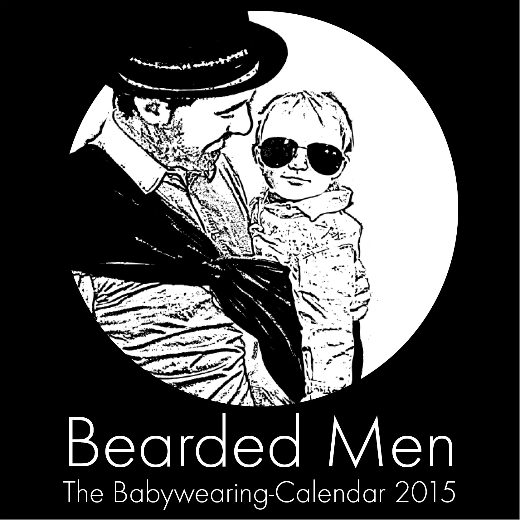 the babywearingcalendar | bearded men