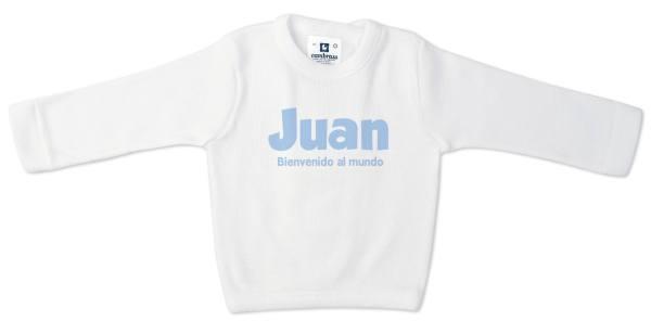 Camiseta bebé personalizada manga larga