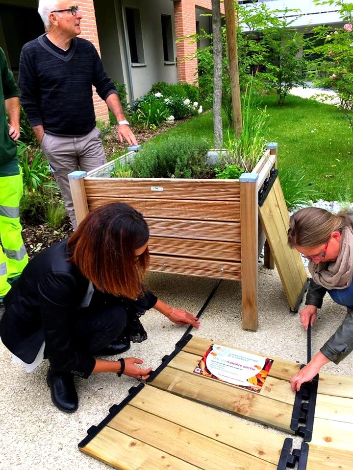 Les Senioriales Castanet-Tolosan Activité jardinage