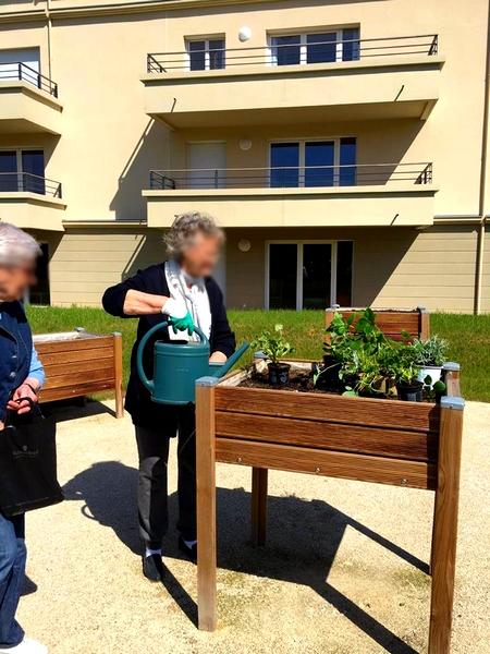 Les Sénioriales Emerainville Bacs à jardiner Papycool