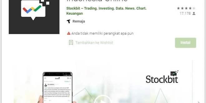 Aplikasi Saham Stockbit yang Menarik