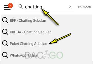 cara paket chatting tri 2020