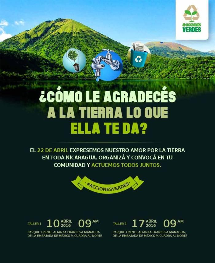 Campaña #accionesverdes