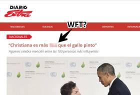 Una tal Christiana Figueres es tan tica como el Gallo Pinto. O sea: es nica