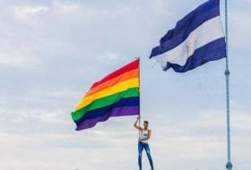 """Y la """"marcha del año"""" va para: la del Día del Orgullo LGBT, ayer en Managua"""
