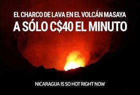 Así es ir de noche al Volcán Masaya a ver lava (C$40 x minuto)