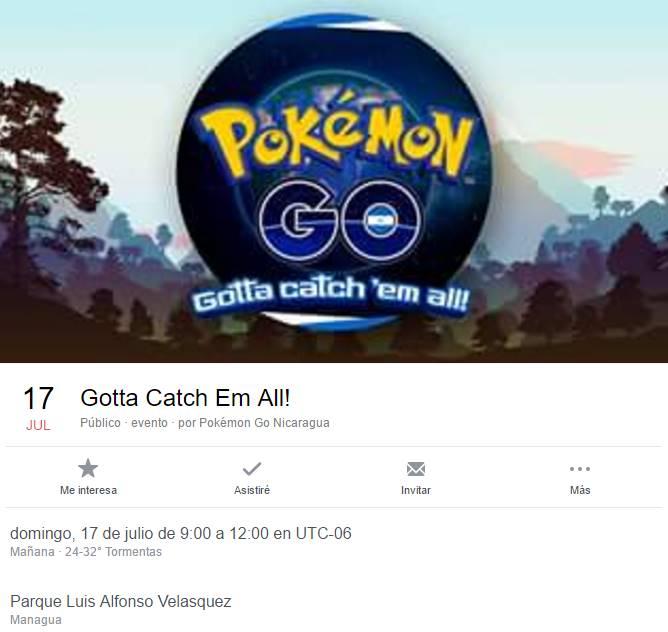 pokemon en el Luis Alfonso