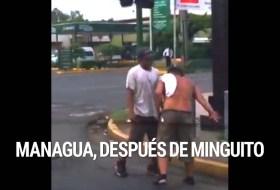Video de como volvimos al trabajo hoy todos los de Managua