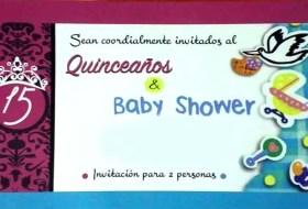 ¿Te han invitado a unos Quince años / Baby Shower? Está de moda