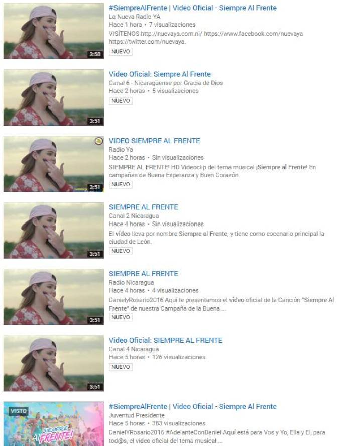 video Siempre Al Frente - YouTube - Google Chrome-ca3af