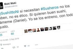 En Nicaragua hasta los que hacen Sushi tienen tráido #PleitoenTwitter