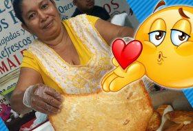 La Fritanga del Queso Frito gigante se ha vuelto viral