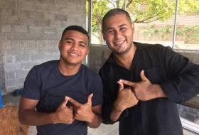 Israel Lanuza va de gira internacional y Nicaragua está orgullosa