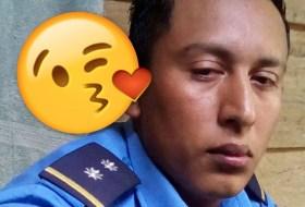 Una historia de Amor, Facebook y la Policía Nacional