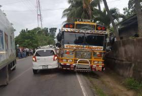 Nicaragua azotada por las multas de tránsito. Excepto los buseros, esos están tranquilos