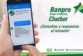 BANPRO tiene un robot que responde (casi) todas tus preguntas