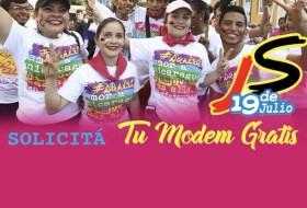 Hoy la Juventud Sandinista fue a reclamar su Modem Solidario para tener Internet gratis, peeero …