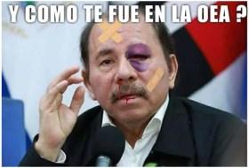 Así dejaron al Payasito Moncada los salvajes de la OEA (no apto para todo público)