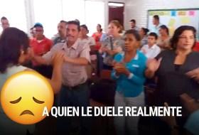 Daniel Ortega exige que los trabajadores del Estado le bailen y le juren lealtad (videos virales de maestros)