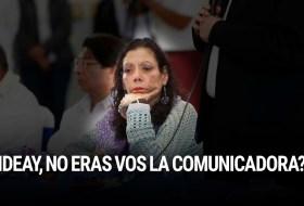 Después de la última encuesta, Daniel Ortega le pregunta a su mujer ¿Ideay?