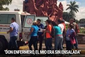 La robadera en Managua no afecta los deliveries en ambulancia para los que andan rotondeando