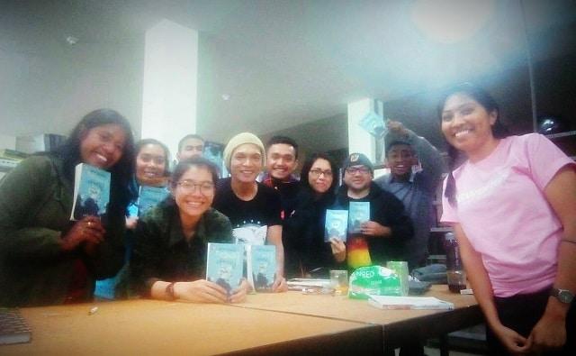 peserta bincang buku petra surat habel dan veronika
