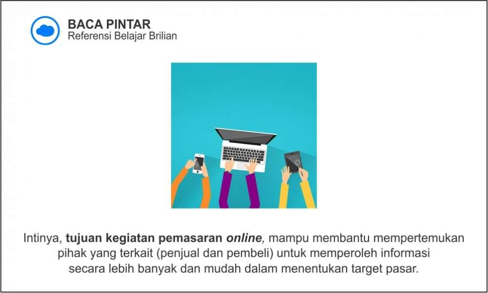 Tujuan pemasaran online