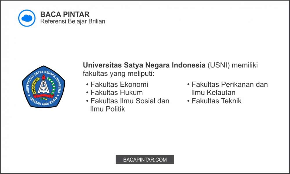 Universitas Satya Negara Indonesia (USNI)