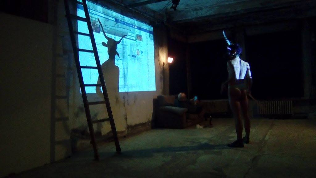 Onico Giannetta Ravenna 2017 performance art Spartaco