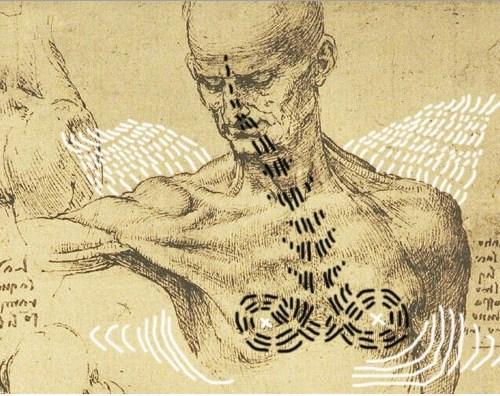 intervento Bacco Artolini anatomico Leonardo Da Vinci (1500 circa)
