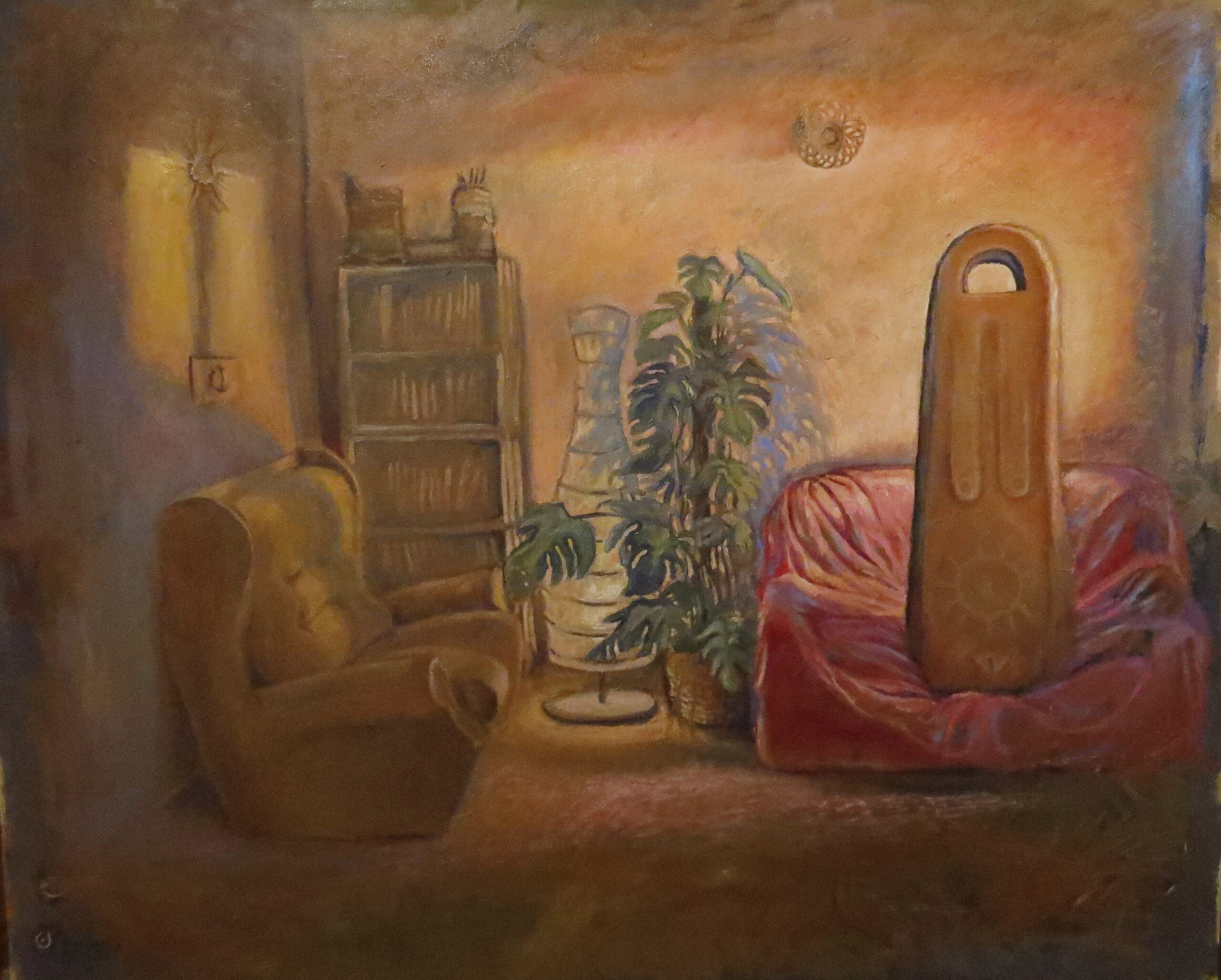 dipinto bacco Bartolini Ravenna 2021
