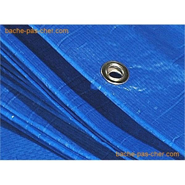 baches de protection 5 x 8 m bleue
