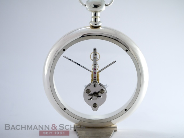 Rare Jaeger Lecoultre Prisma Table Clock With 8 Day Baguette