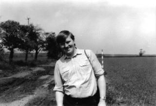 Meine Wenigkeit im Jahre 1985