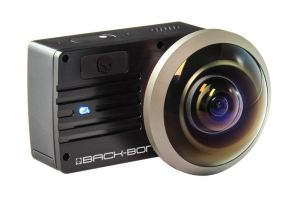 Ribcage Yi 4K Mod with Entaniya 250 VR lens