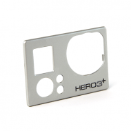 HERO3  SILVER FACE PLATE 2