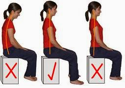 posture chair sitting outdoor high top table and set improve exercises correct back to health