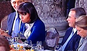 mICHELE oBAMA ROLLS EYES AT bOEHNER