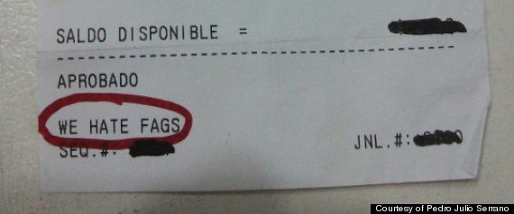 antigay receipt