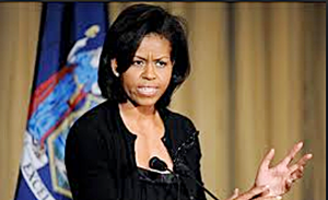Michelle Obama angry