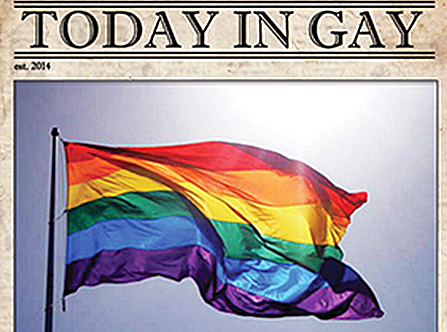 Today in Gay. Gay History for June 4th.