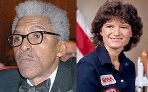 Sally Ride and Banyard