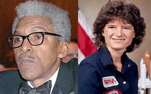 Sally Ride and Banyard