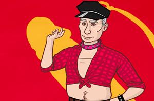 Gay Putin.com 2