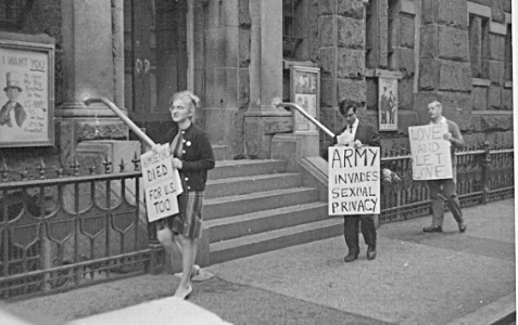 GAY HISTORY: September 19, 1964 - The Little Known First Ever Gay Protest